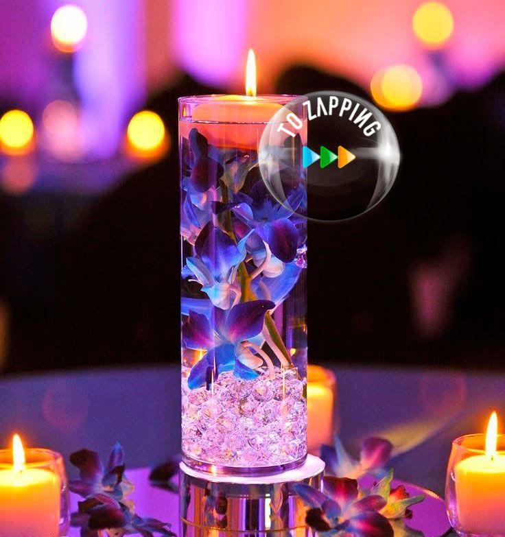 C mo hacer centros de mesa con velas flotantes tozapping - Como hacer velas flotantes ...