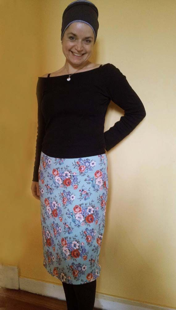 EASY KNIT PENCIL SKIRT (Schnittmuster: Gretchen Hirsch) | Sew it ...
