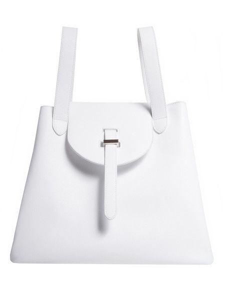 Thela white lux Thela | meli melo - Luxury Italian designer handbags