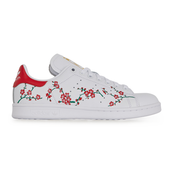 Stan smith flower en 2020 | Chaussure adidas stan smith ...