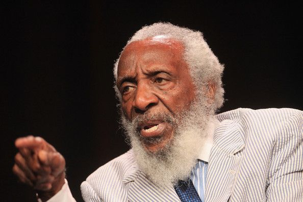 Comedian and long time civil rights activist,  Dick Gregory turns 81 today. he was born 10-12 in 1932.