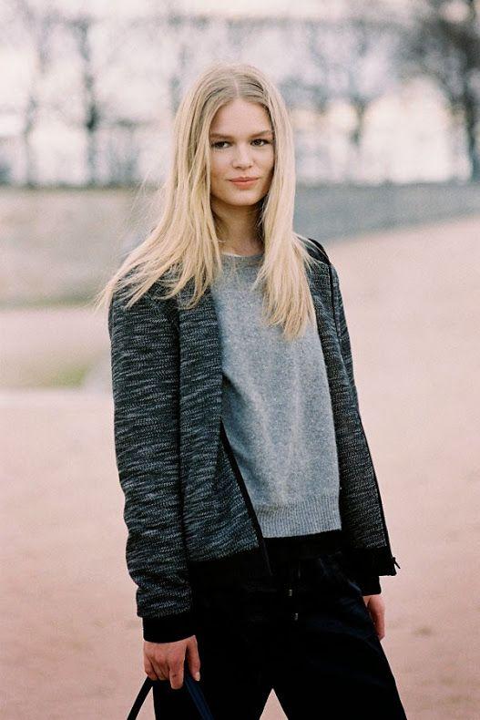 Vanessa Jackman: Paris Fashion Week AW 2014....Anna