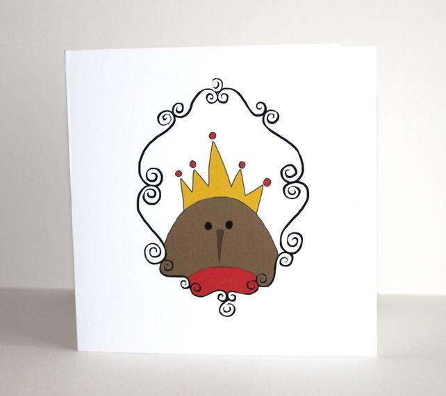 Christmas card  £1.50