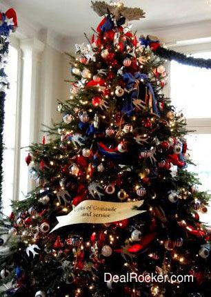 Patriotic Christmas.Patriotic Christmas Tree Christmas Trees Christmas Tree