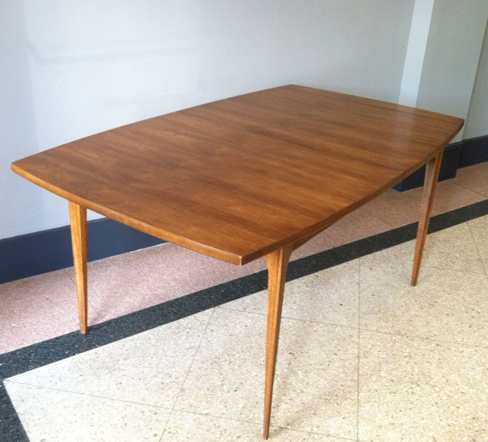 broyhill brasilia dining table by twoguysvintage on etsy