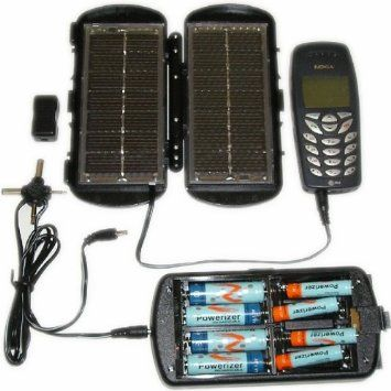Amazon Com Solar 2 In 1 Folding Panel Power Supply Aa And Aaa Battery Charger Sports Outdoors Solar Charger Cheap Solar Panels Aaa Battery Charger