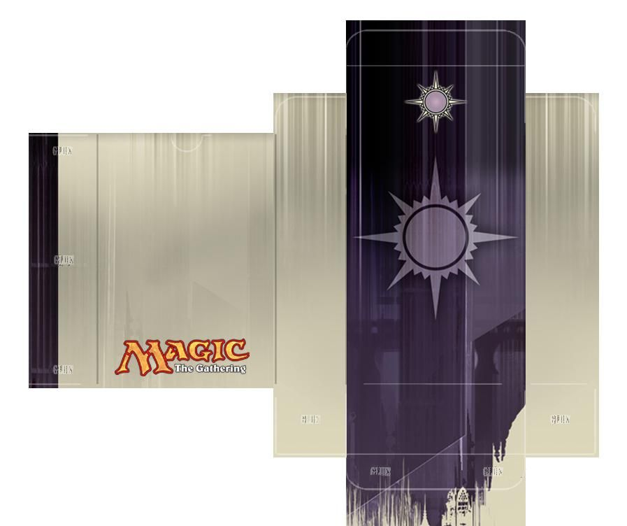 Orzhov Guild Deckbox Template By Lumberjacksquid On Deviantart In 2020 The Gathering Magic The Gathering Magic Crafts