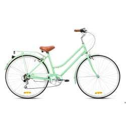 Ladies Alloy Lite Mint Green 52 Bicicleta Urbana Bicicletas De