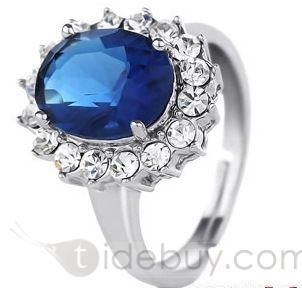 New Arrival Noble Perfect Zircon Ring