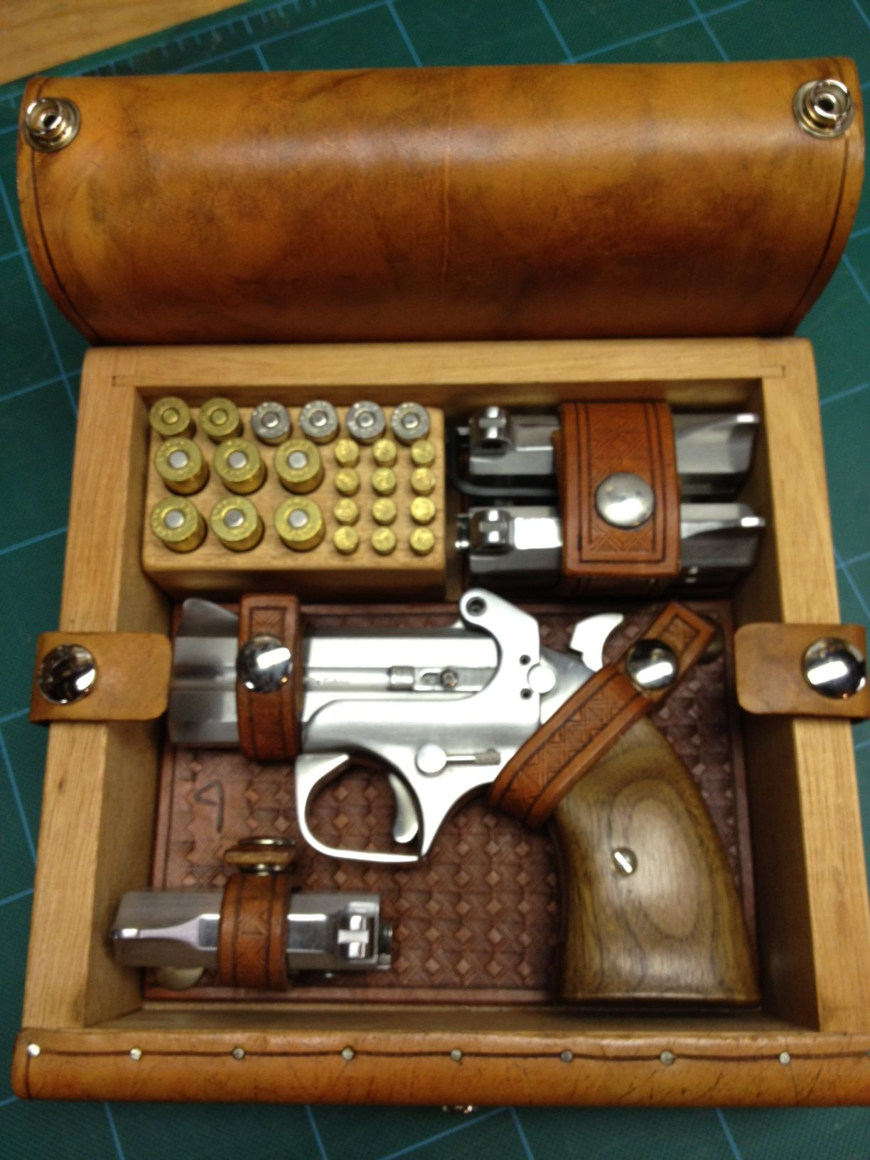 Bond Arms derringer box and accessories    By: the Uker of OZ