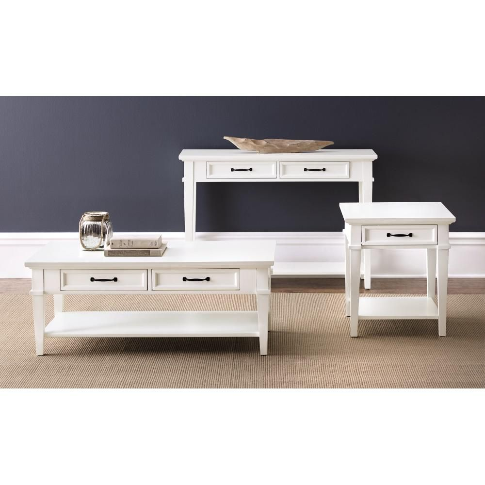 Home decorators collection martin ivory storage console