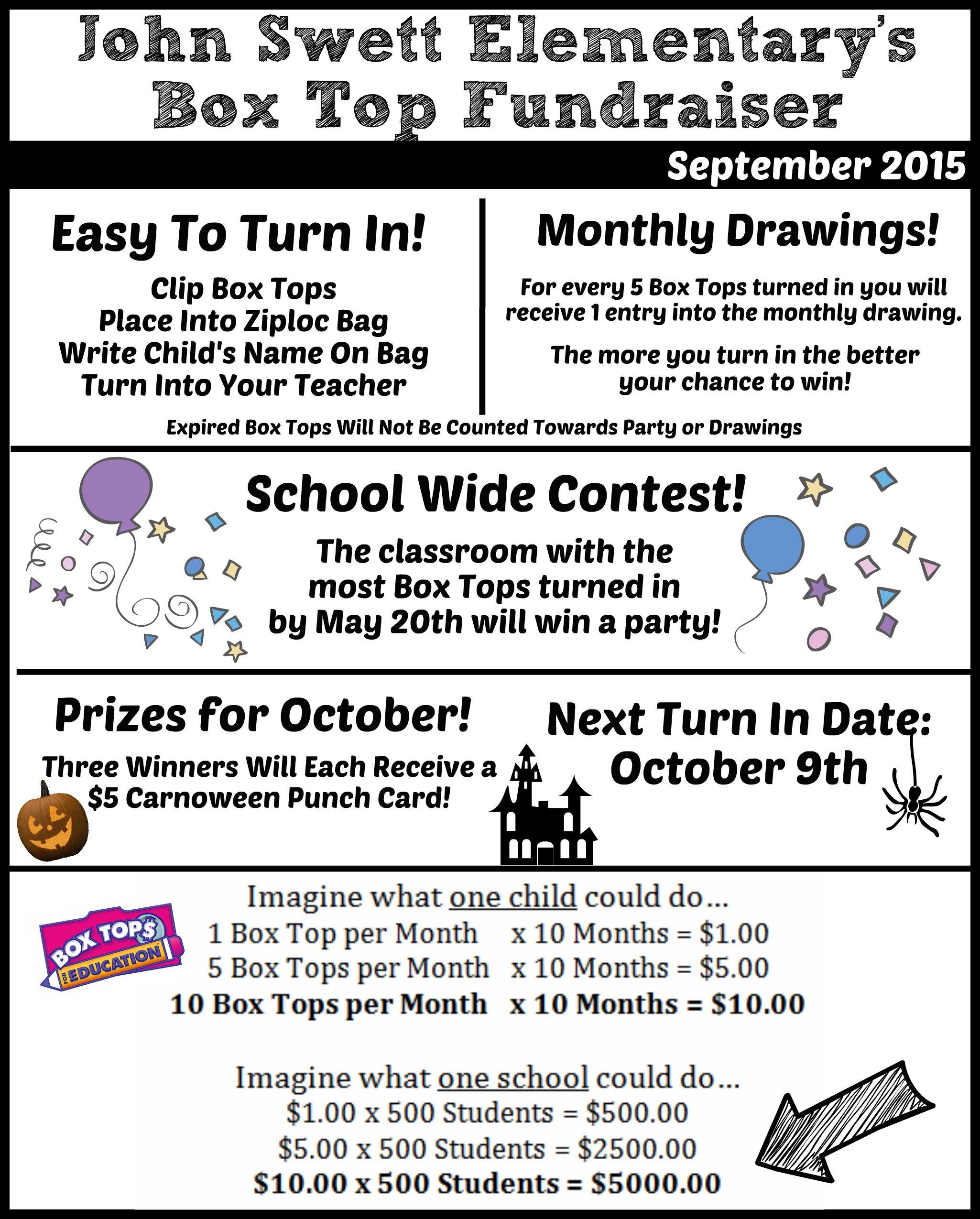 Box Tops For Education Parent Newsletter  PtoSchool