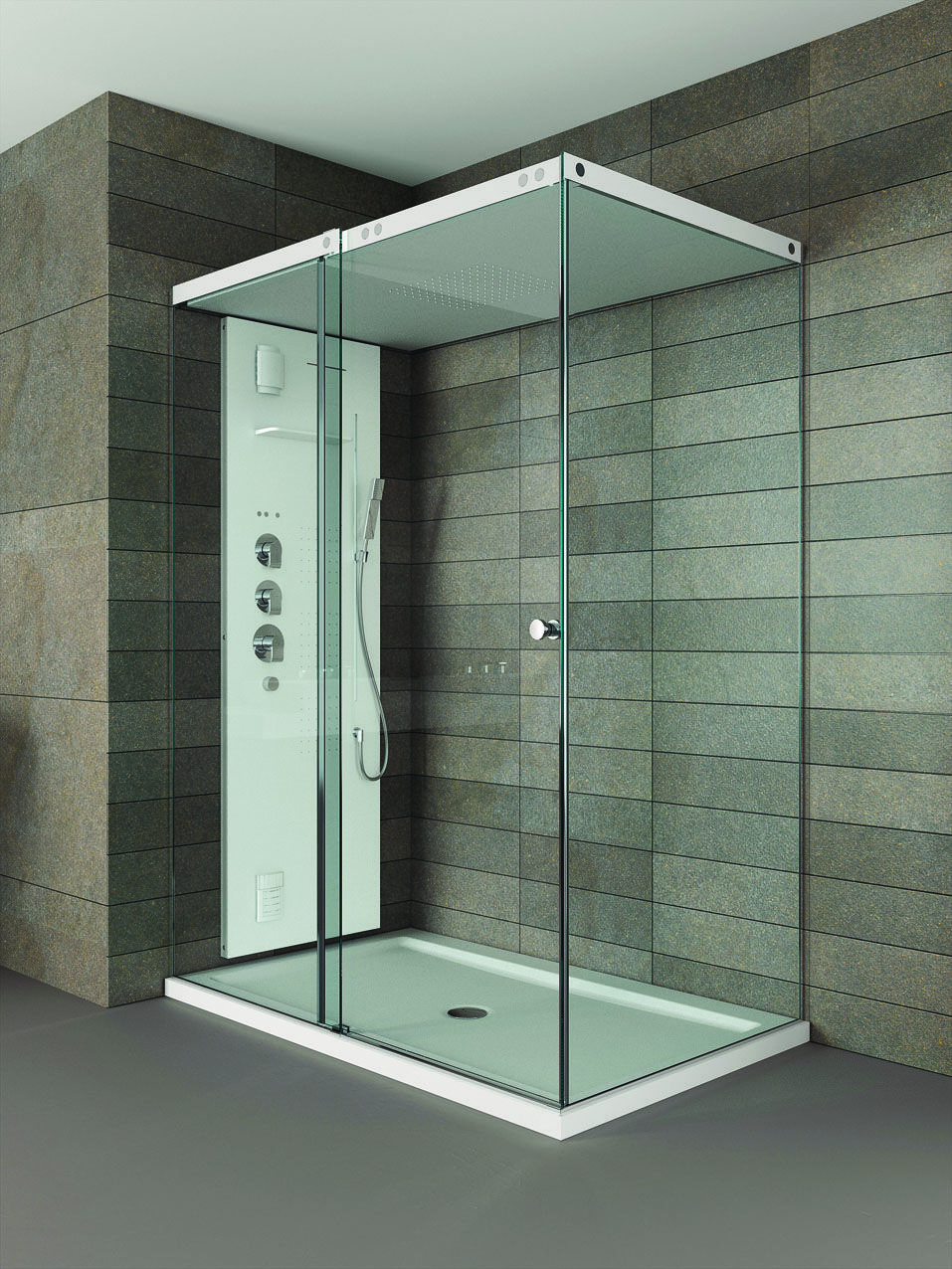 The Light Shower Enclosure Is The First Precision Engineered Bespoke
