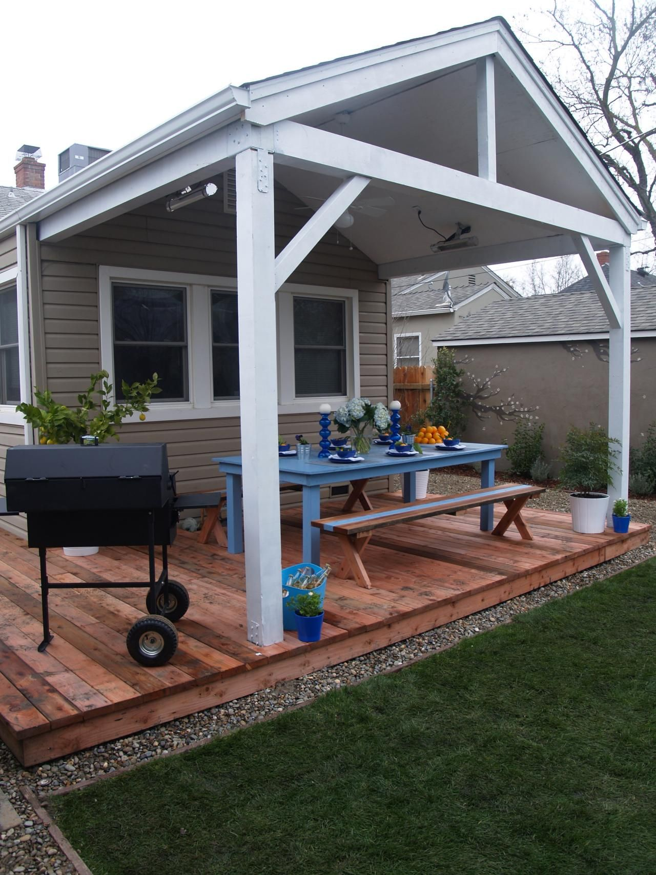 Beautiful decks designed by diy network experts diy for Backyard decks