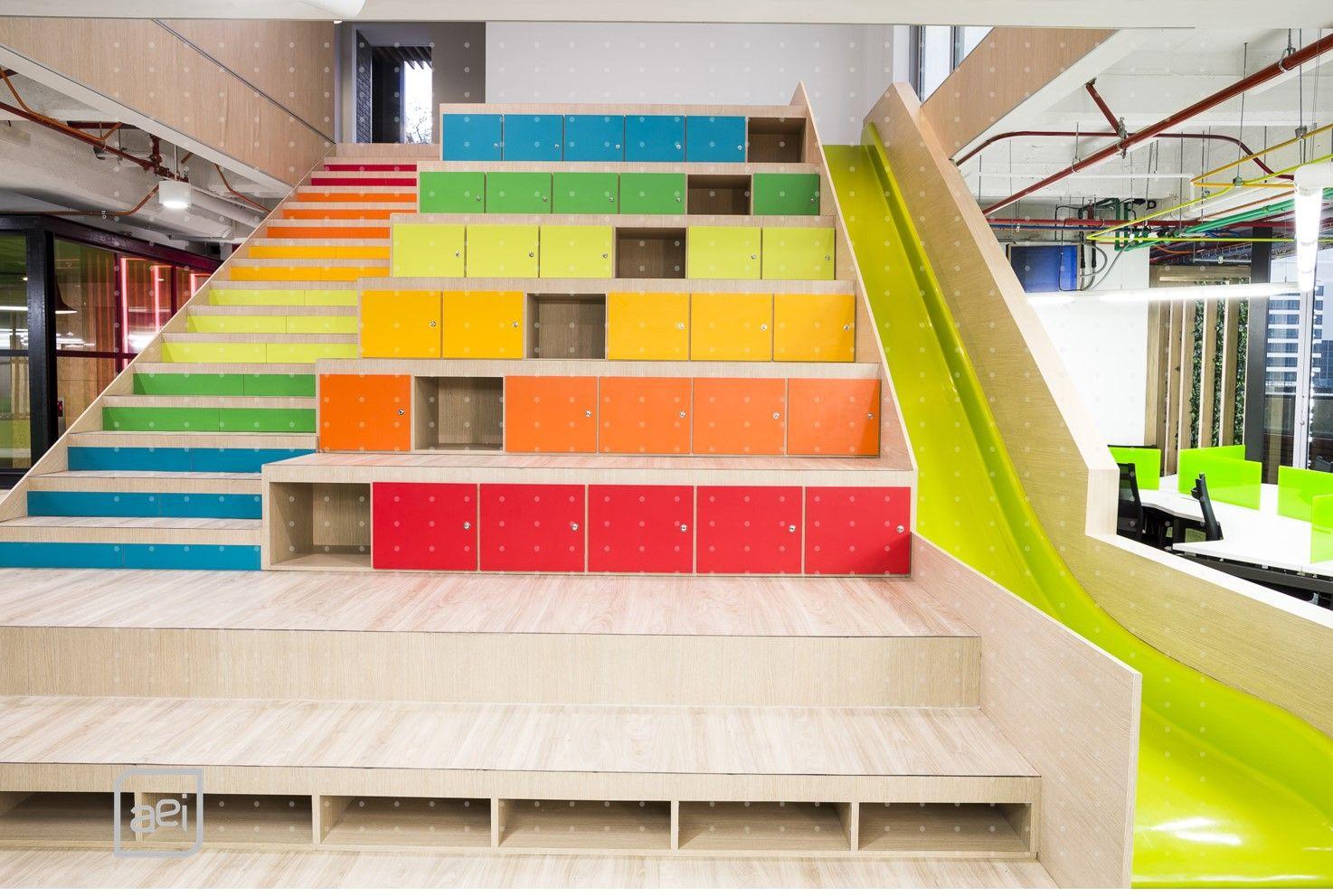 Oficinas globant en bogot ganan premio iida 2015 en la for Diseno oficinas modernas bogota