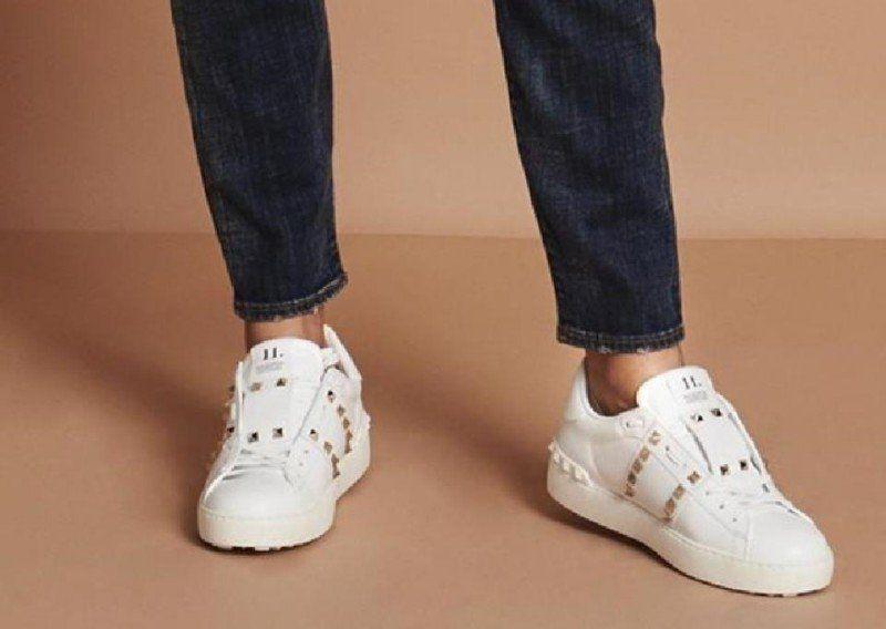 1cecd66d63a07 Valentino Garavani Rockstud Sneakers (White) Review   VALENTINO ...