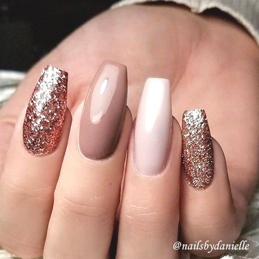 REPOST - - - - Rose Gold Glitter Caramel and Ivory on ...
