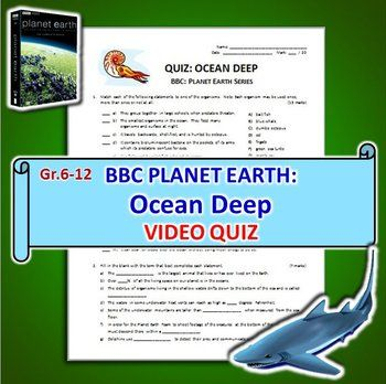 Planet Earth - All 11 Episodes - Video Worksheets Bundle {Editable ...