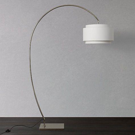 John lewis evie curve floor lamp floor lamp john lewis and living buy john lewis evie curve floor lamp online at johnlewis lounge aloadofball Gallery
