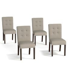 Isidora Parsons Chair Set Of 4