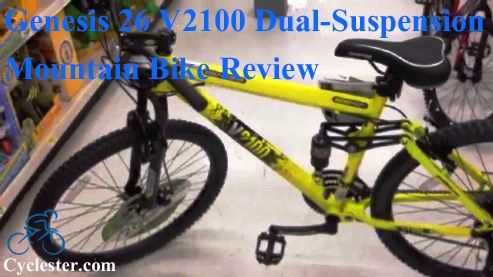 Genesis V2100 Review Dual Suspension Mountain Bike With Images