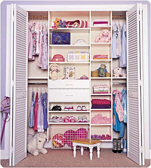 Organize Walk In Closet Ideas Part - 24: Small Walk In Closet Organization