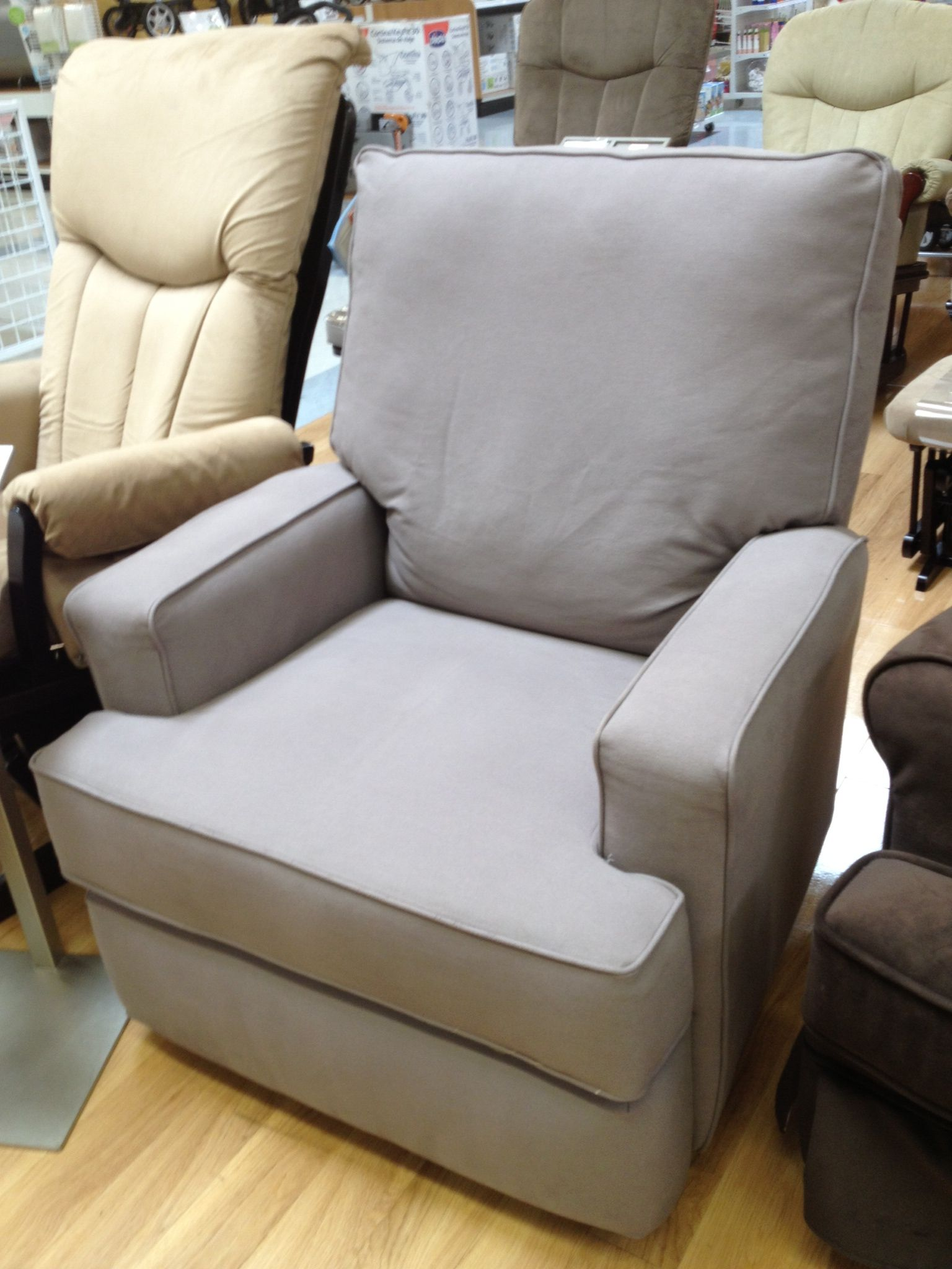 Storytime Chair Kersey Swivel Rocker Glider In Gray At Bru Best Chairs Storytime