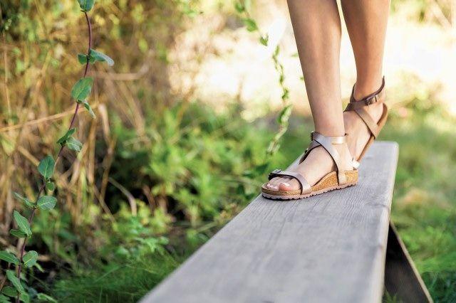 d1edbcb316a Beautiful and sleek sandal from Birkenstock.  birkenstock  daloa ...