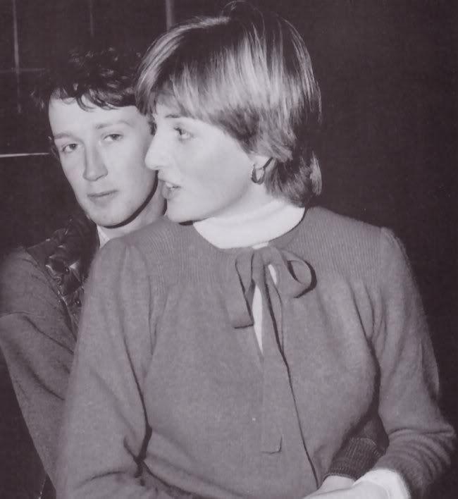 1980 - Diana with her boyfriend, Humphrey Butler