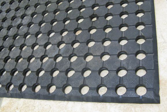 Excellent Drainage With Raised Anti Slip Cleats On The Underside Allowing Essential Airflow To Facilitate Quick Drying Of Shower Mats And Floors