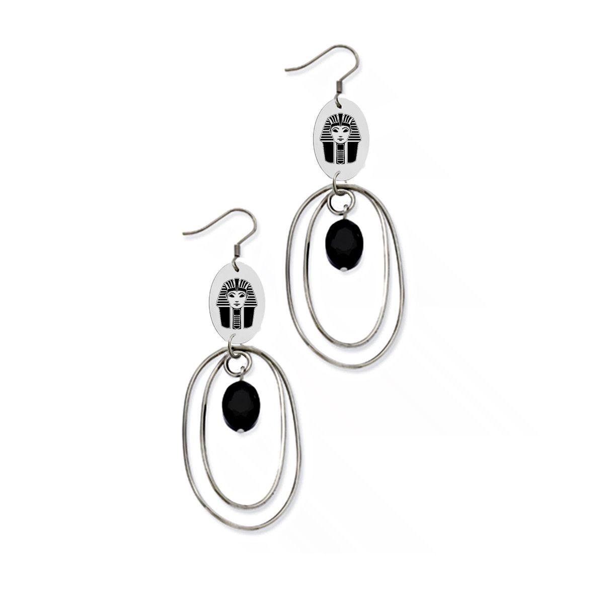 Phi sigma sigma symbol stainless steel loop earrings shepherds phi sigma sigma symbol stainless steel loop earrings buycottarizona Gallery