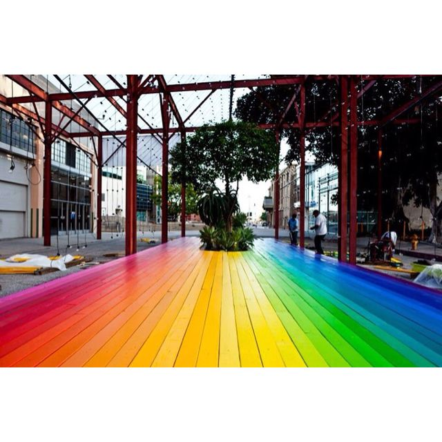 Rainbow floor  Floors