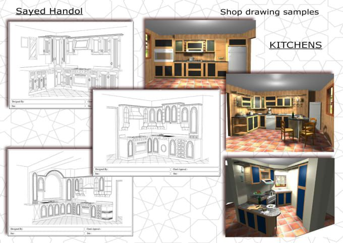 Design Your Kitchenautocad 2D 3D  Autocad Kitchens And Joinery Enchanting Autocad For Kitchen Design Decorating Inspiration