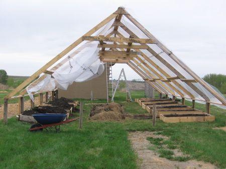 My Giant $160 A-Frame Greenhouse | Alberta Home Gardening | Garden ...