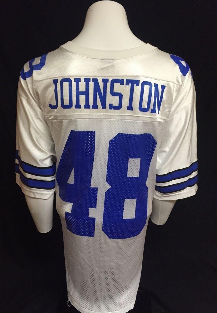buy popular 70a45 1e1c3 Details about Vtg NIKE Dallas Cowboys Dat Nguyen #59 Jersey ...