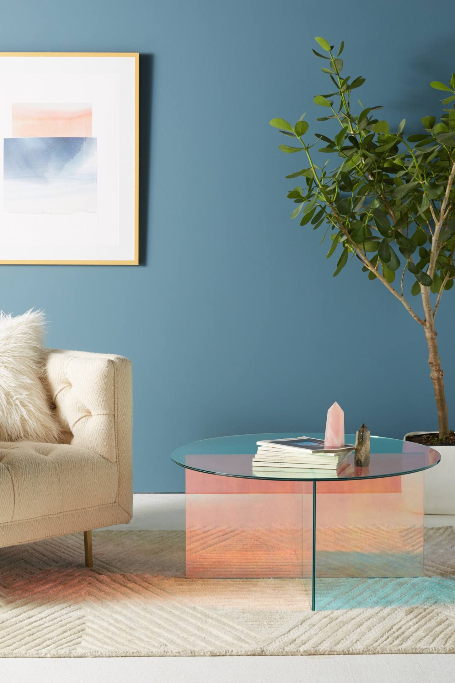 Shop The Iridescence Coffee Table And More Anthropologie At