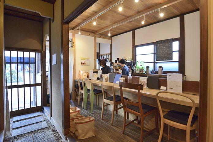 「古民家→カフェ」 なんてんcafe