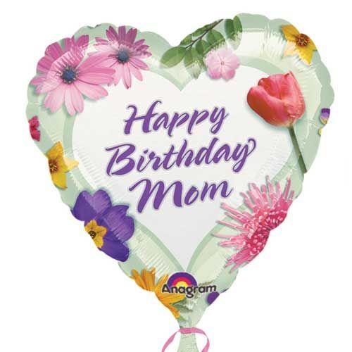 happy birthday mom balloons