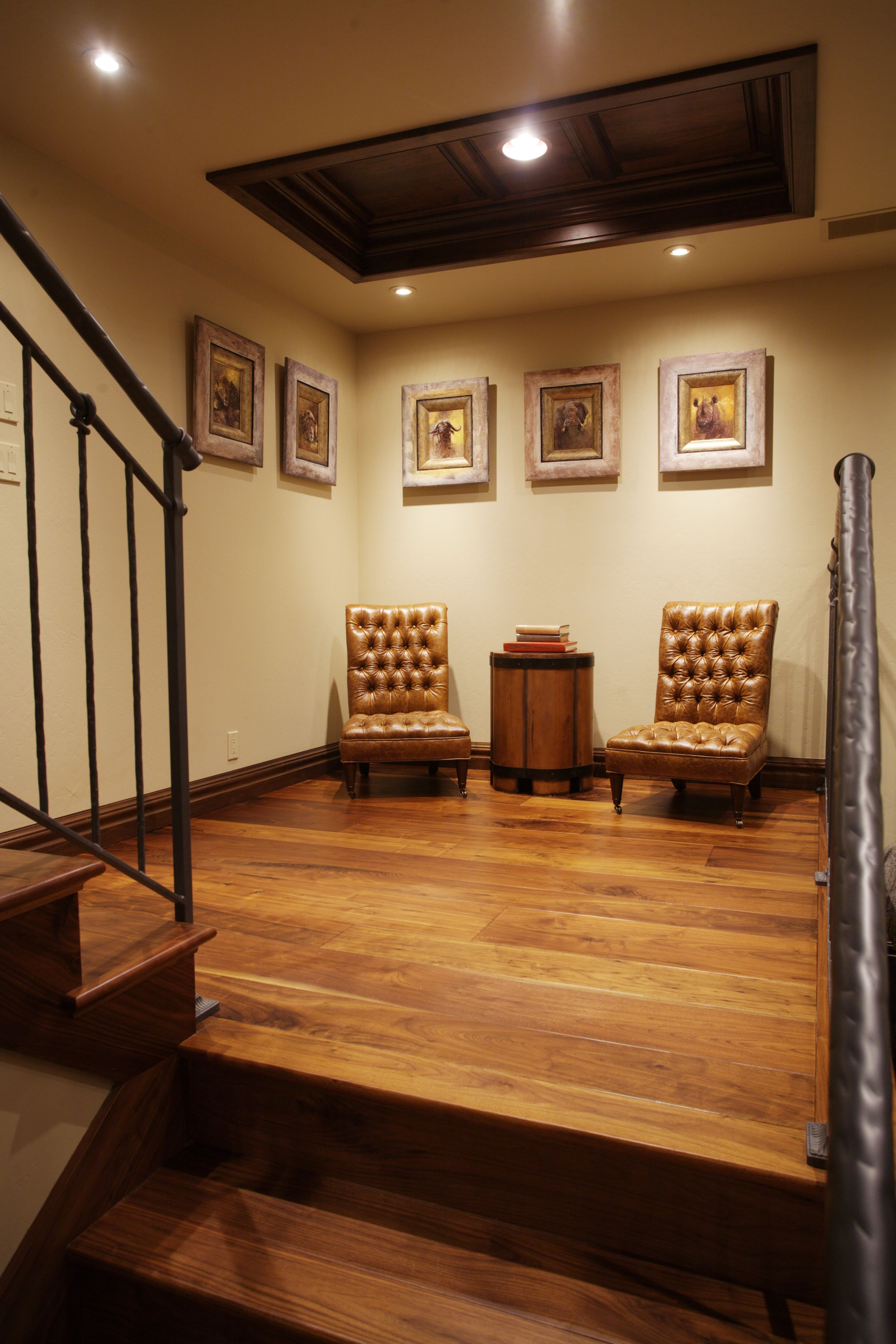 Trophy Room Design Ideas: Doors And Stairs Image By Julian & Sons