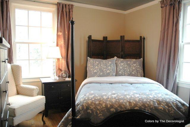 Decorating On An Angle A Teeny Tiny Bedroom Tiny Bedroom Bedroom Furniture Layout Bedroom Arrangement