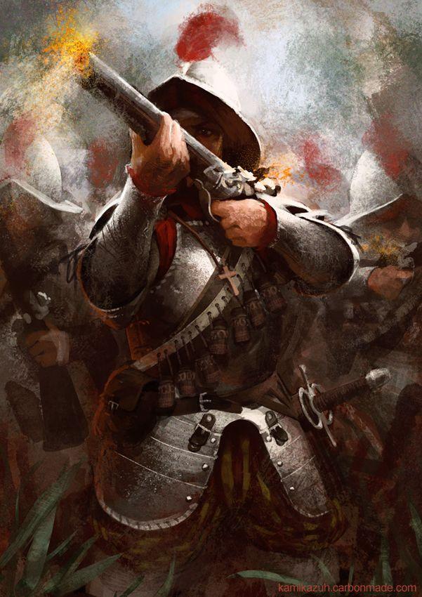 Conquistadors by Kamikazuh.deviantart.com on @deviantART