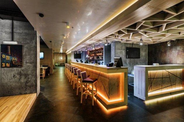 Modern Concrete Restaurant – Yunakov Architects