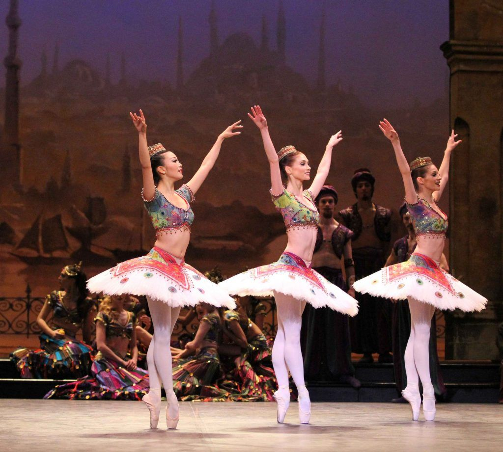 English national ballets le corsaire in pictures part