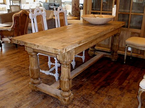 rustic kitchen tables and chairs sets  Reclaimed Wood Farm