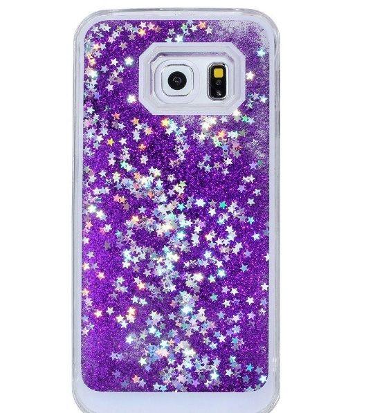 Glitter Liquid telefoonhoesje #HelloSpecial #onlineauction #veiling #glitter #Iphone #Samsung