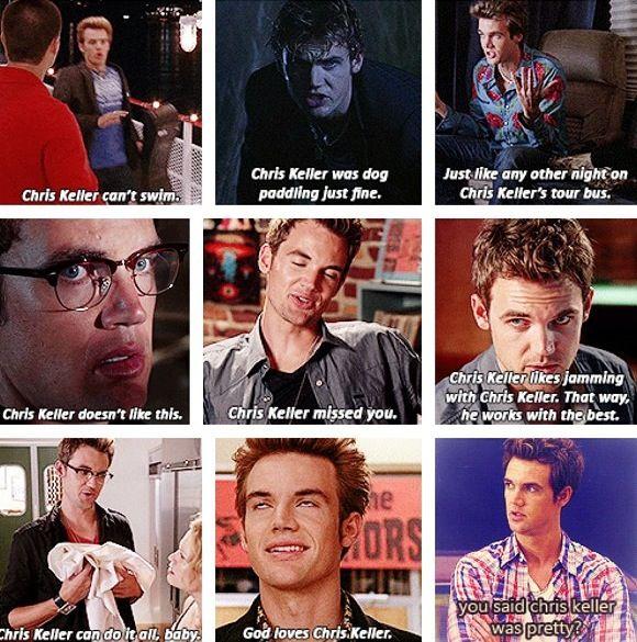 Chris Keller I Loved Him Before Season 9 Haha When He Was Still A