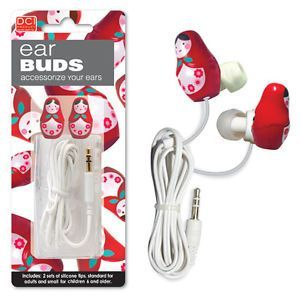 Babushka Shaped Matryoshka Ear Buds Headphones iPod New | eBay