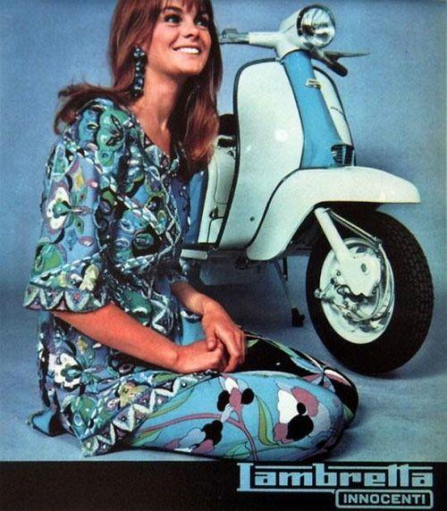 1960's Italy: Lambretta Advertising Campaign