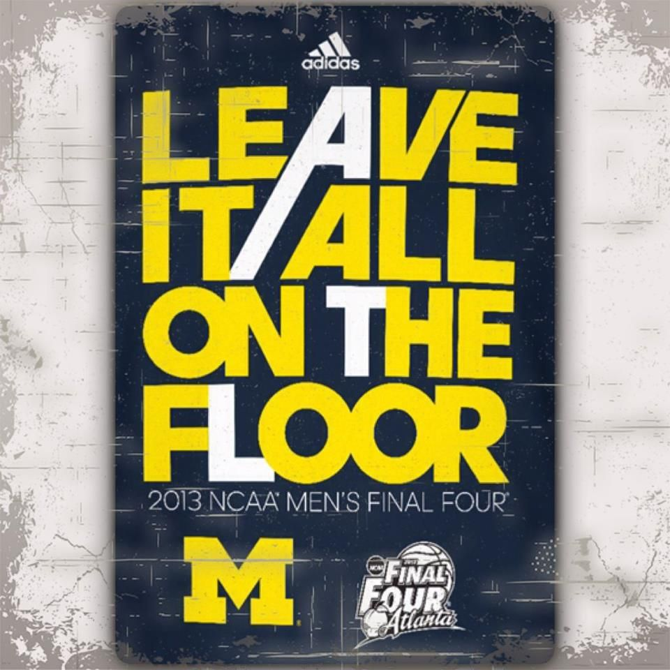 Its game day! Lets GoBlue! Beat the Orange. Go blue