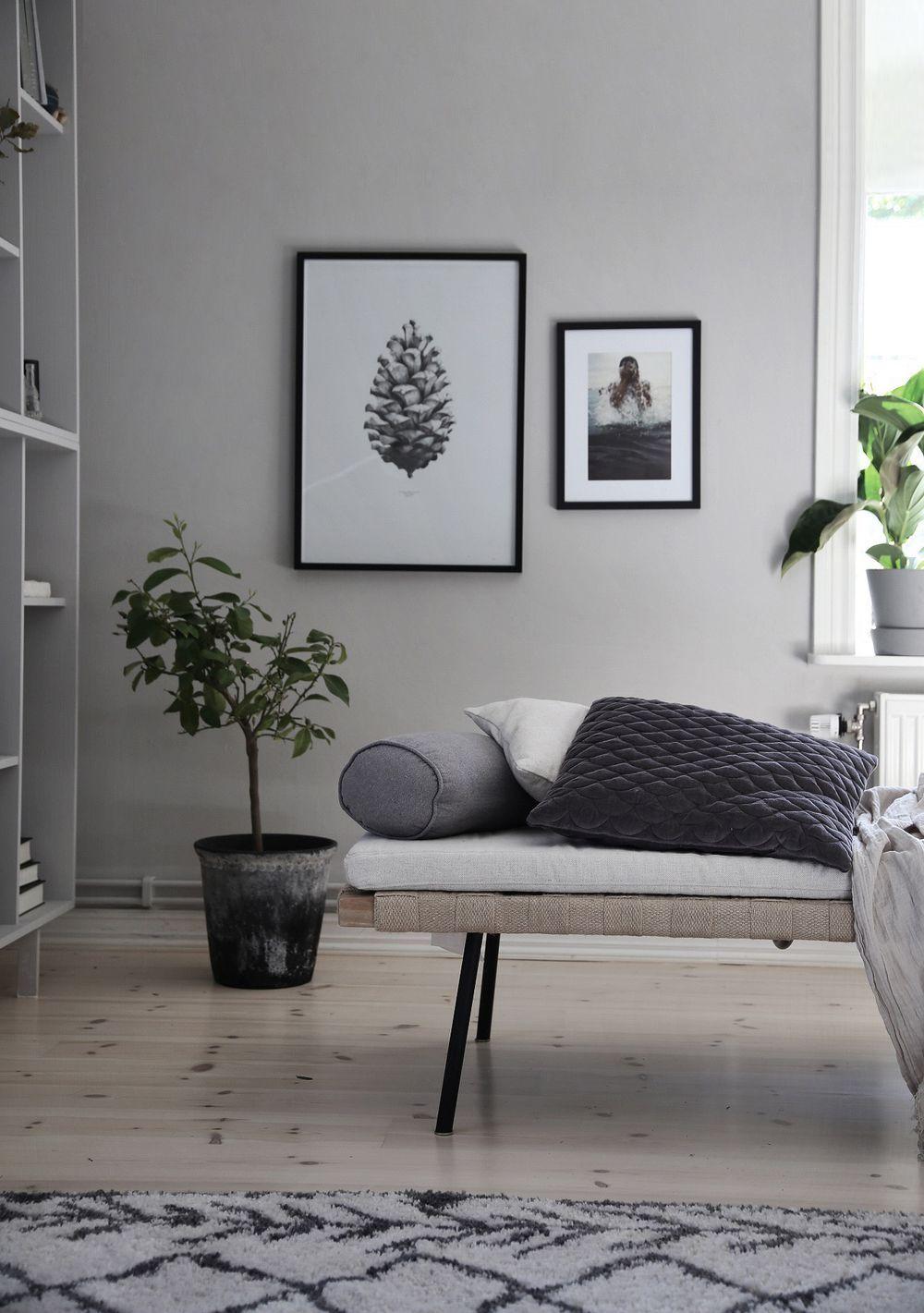 Best Scandinavian Living Room With Black White Photos Ikea 400 x 300